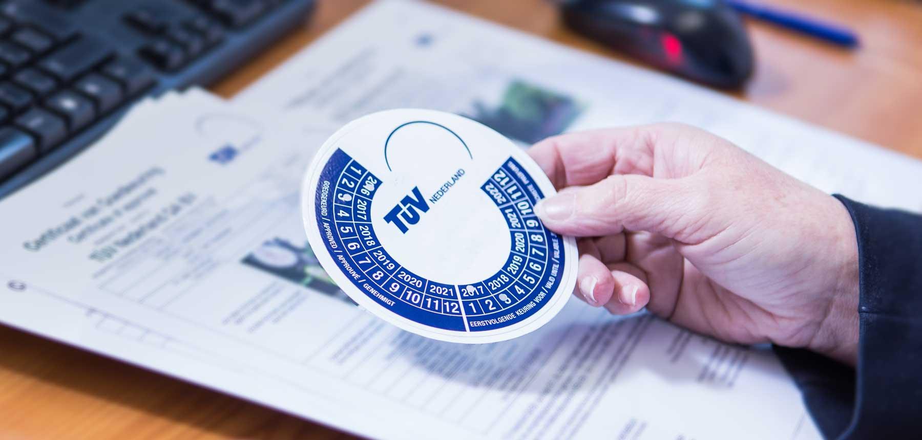 Certificaat of keurmerk behalen? Neem contact op met TÜV
