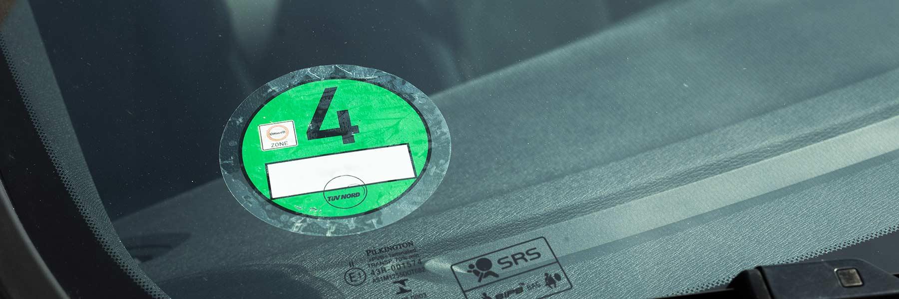 Milieusticker Duitsland - Keuring voertuigen | TÜV Nederland